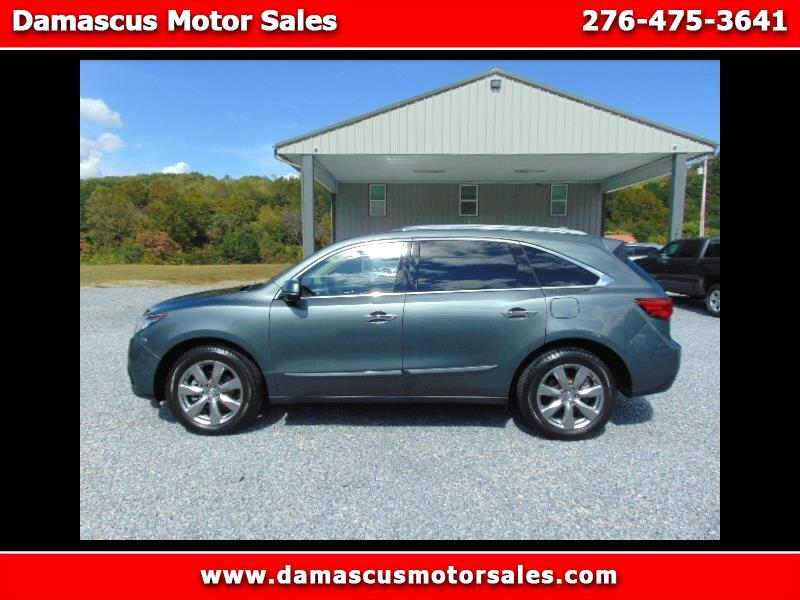 Acura MDX SH-AWD 4dr w/Advance 2016