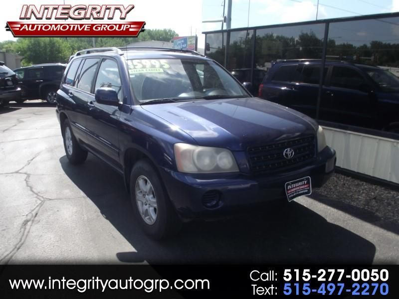 2003 Toyota Highlander V6 Limited
