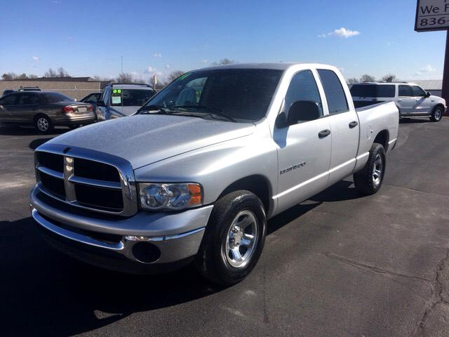2004 Dodge Ram 1500 SLT Quad Cab Short Bed 2WD