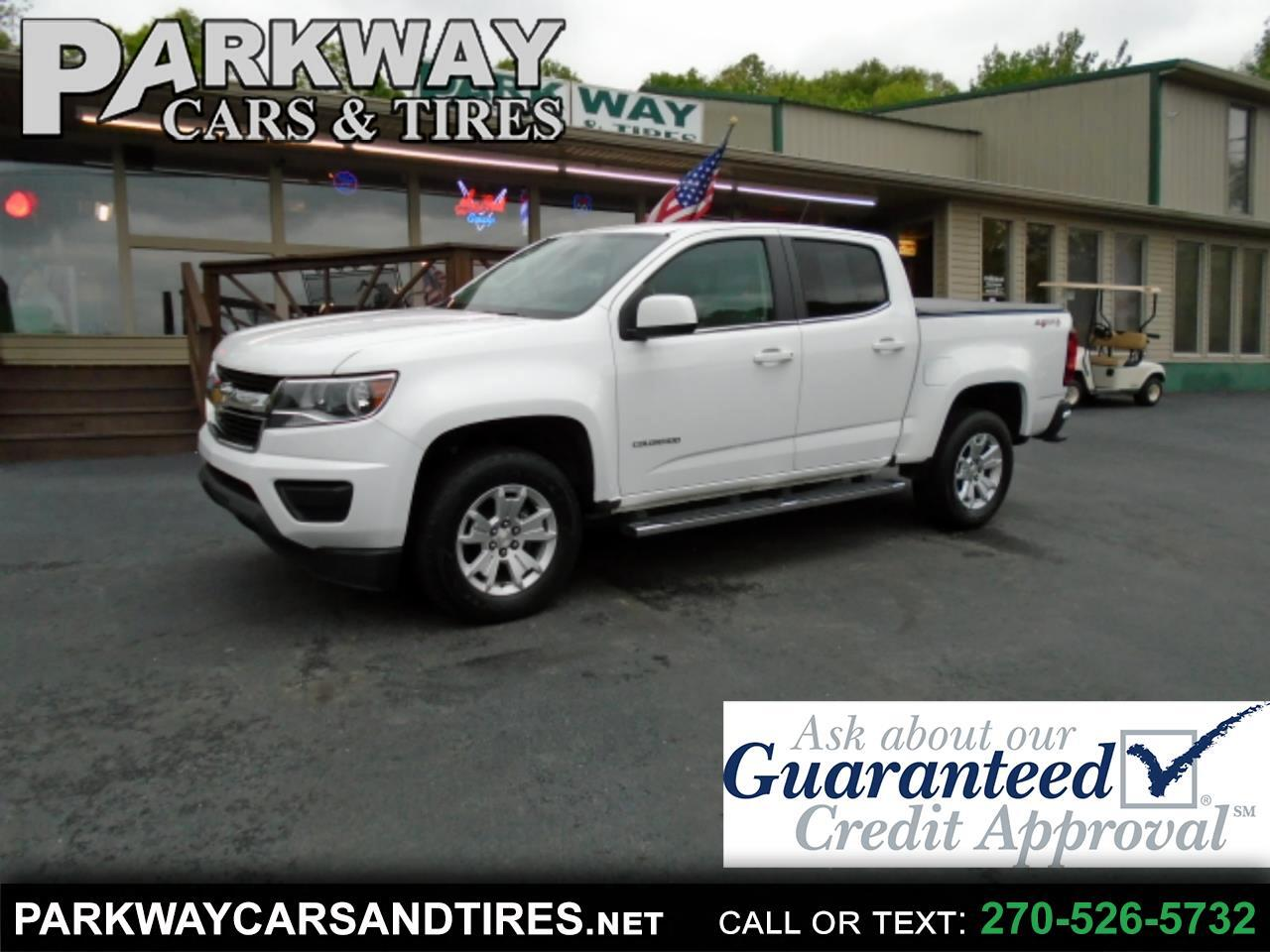 Chevrolet Colorado LT Crew Cab 4WD Long Box 2017