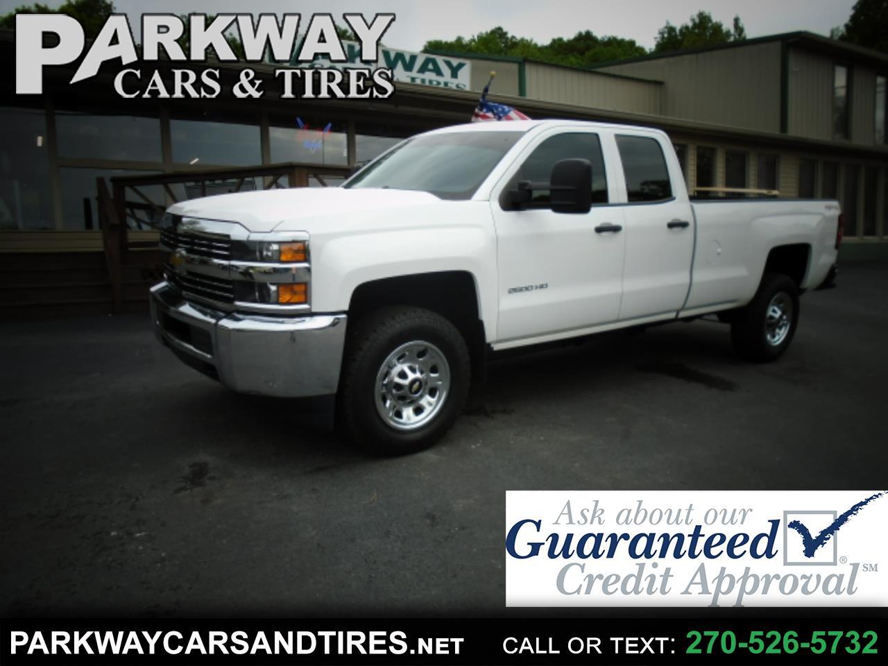 "Chevrolet Silverado 2500HD 4WD Double Cab 158.1"" Work Truck 2015"