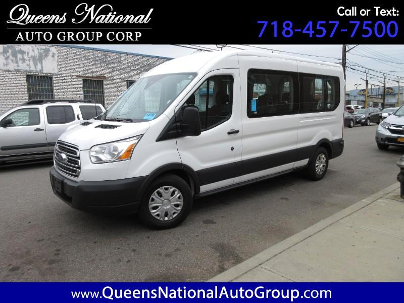 2017 Ford Transit 350 Wagon Med. Roof XLT w/Sliding Pass. 148-in. WB