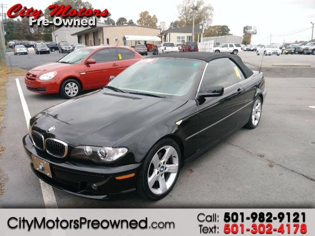 2004 BMW 3-Series 325Ci 2dr Convertible
