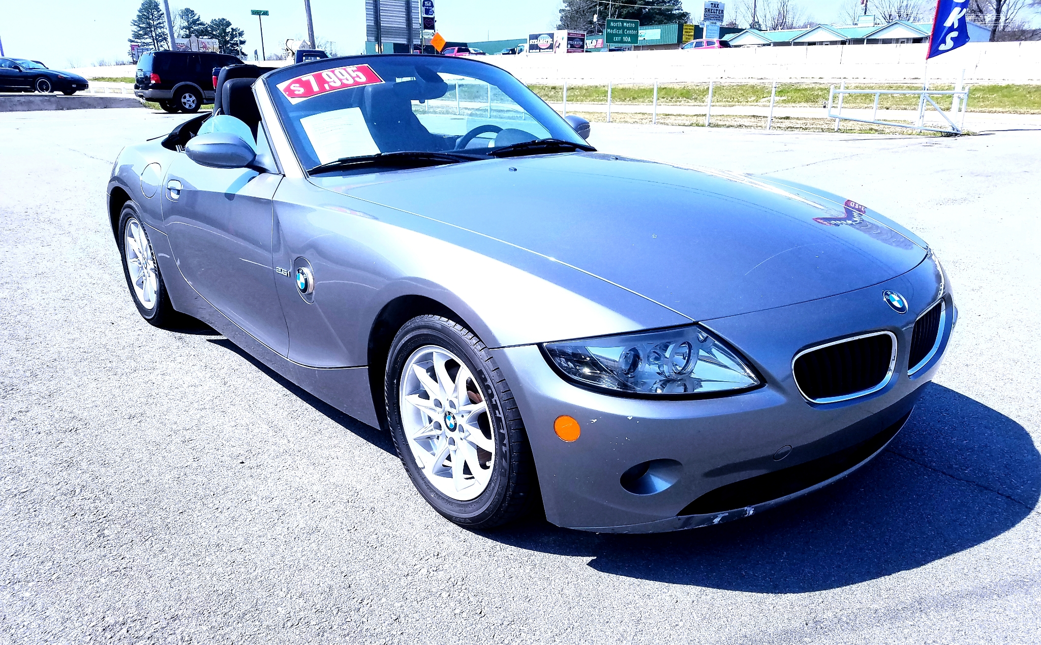 2005 BMW Z4 2dr Roadster 2.5i
