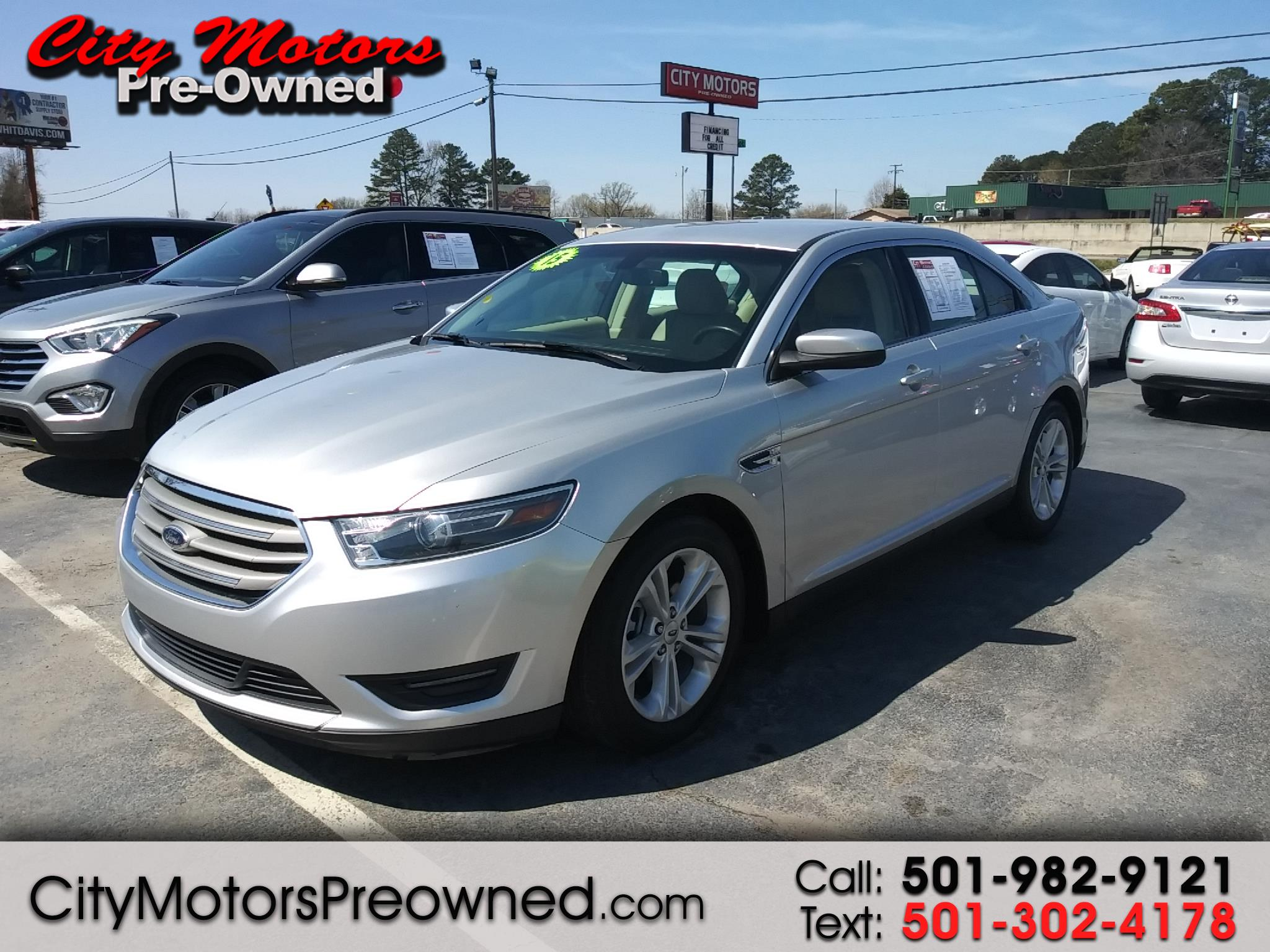 2015 Ford TAURUS SEL 4dr Sdn SEL FWD