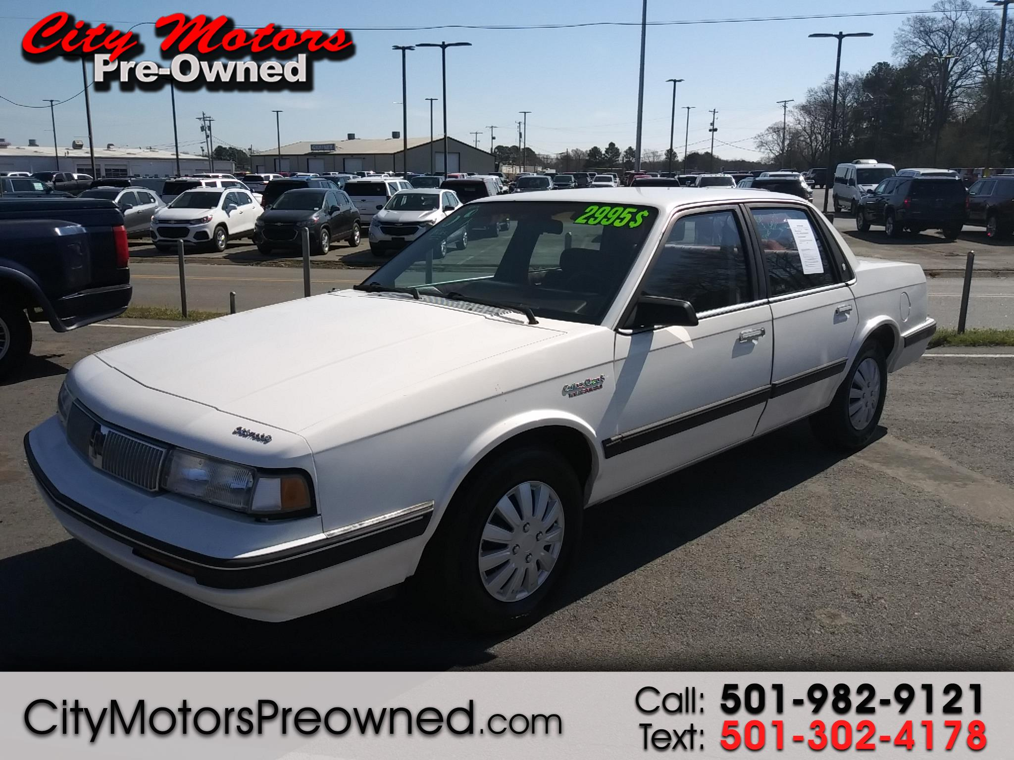 1992 Oldsmobile Cutlass Ciera/Cruiser 4dr Sedan Ciera S