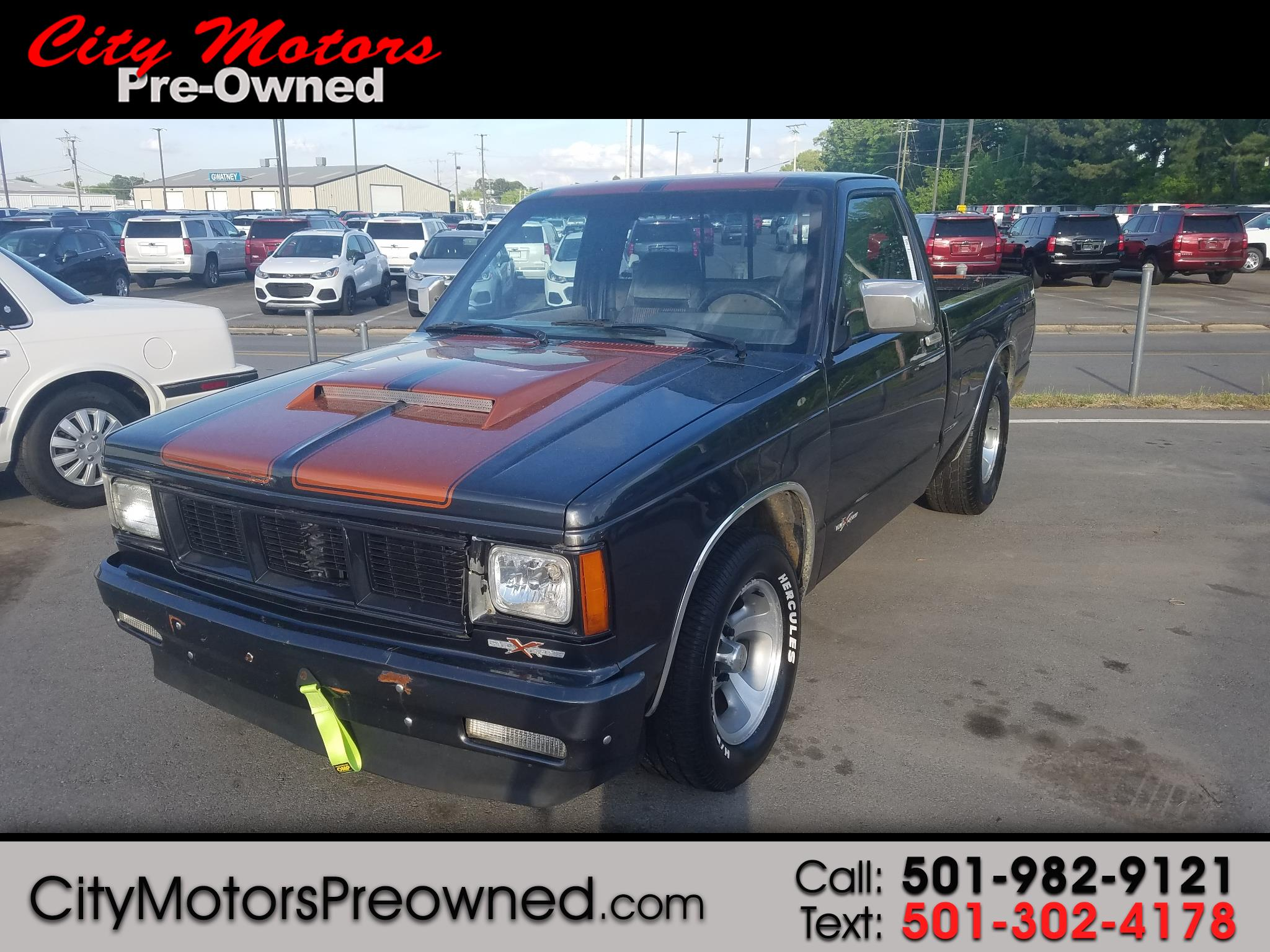 1987 GMC S15 2WD Fleetside 108