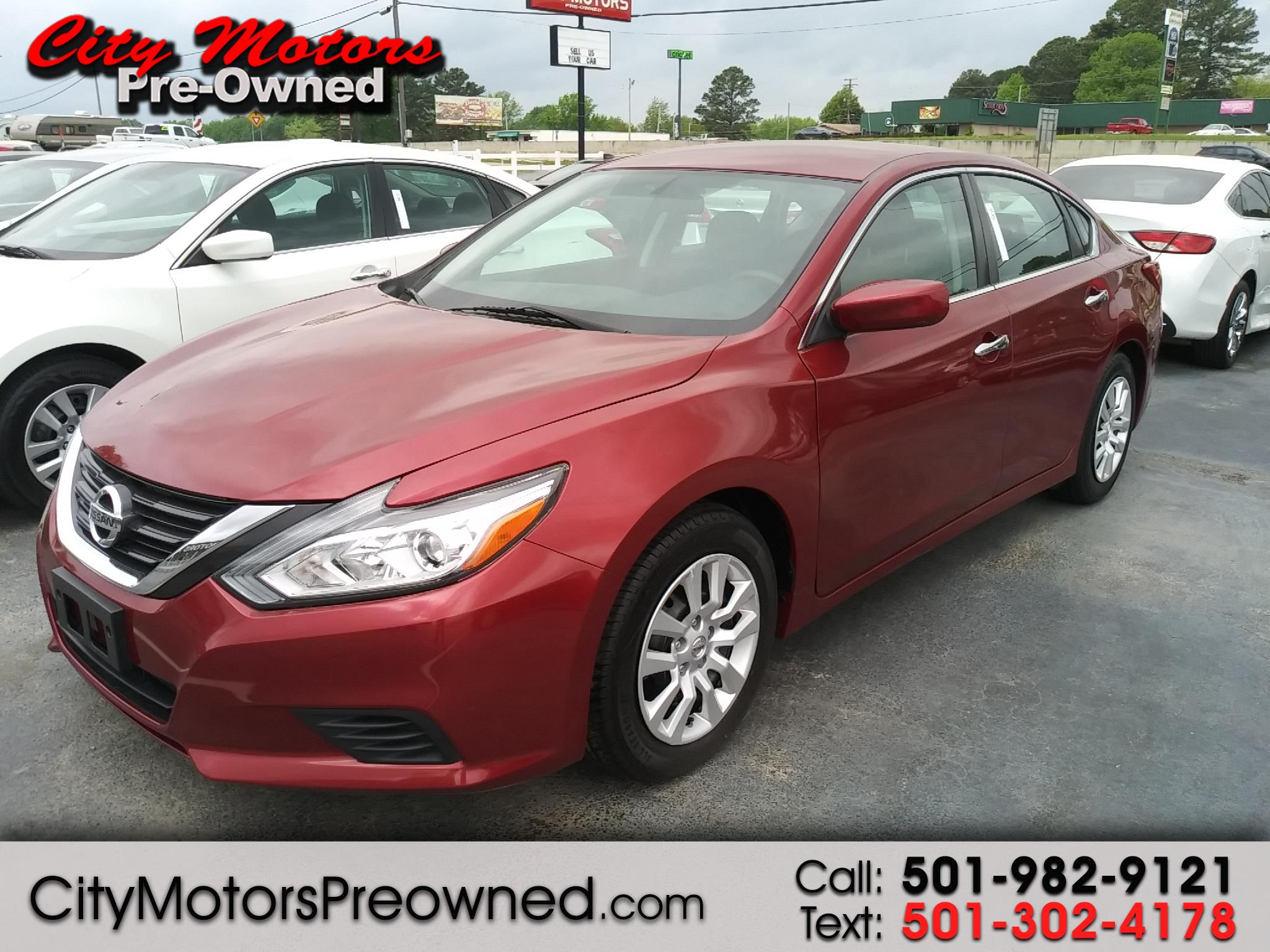 2016 Nissan ALTIMA 2.5 4dr Sdn I4 2.5 S