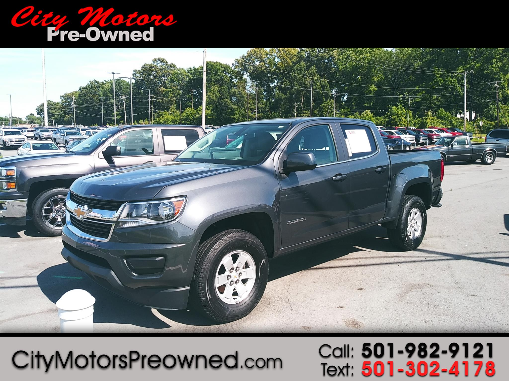 2017 Chevrolet Colorado 2WD Crew Cab 128.3