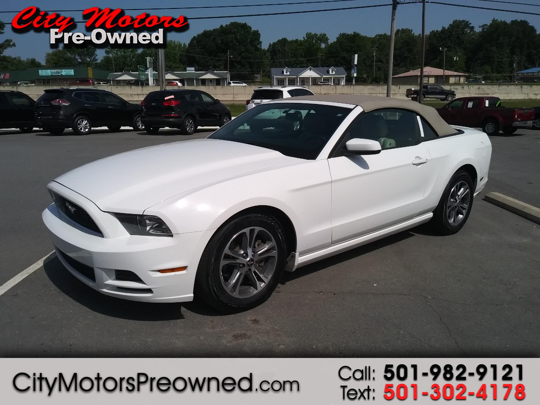 2014 Ford Mustang 2dr Conv