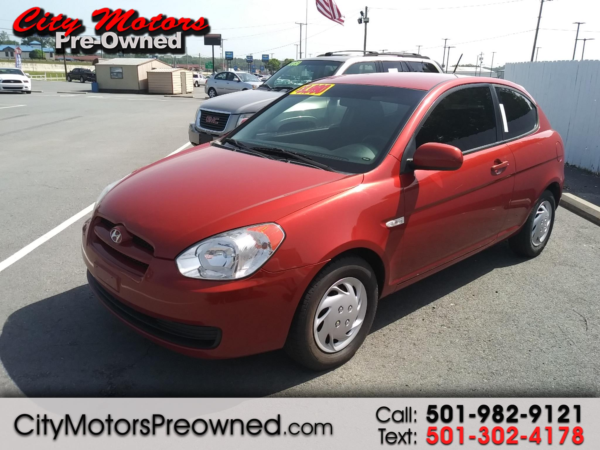 2010 Hyundai Accent 3dr HB Man GS