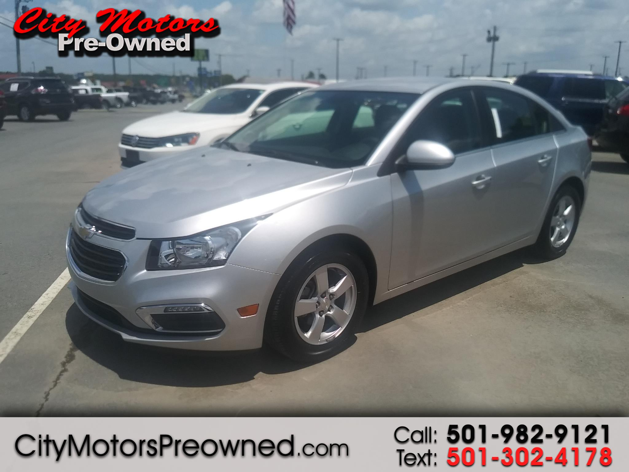 2016 Chevrolet Cruze Limited 4dr Sdn Auto LT w/1LT