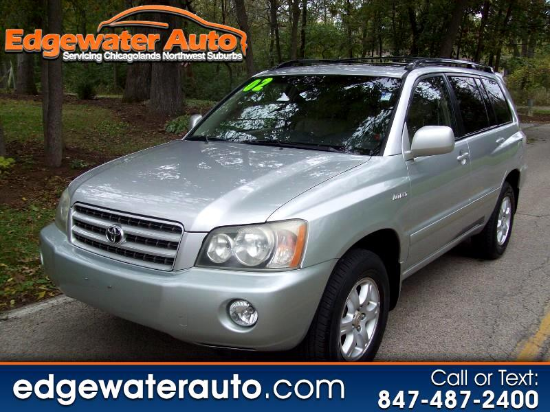 2002 Toyota Highlander Limited V6 4WD