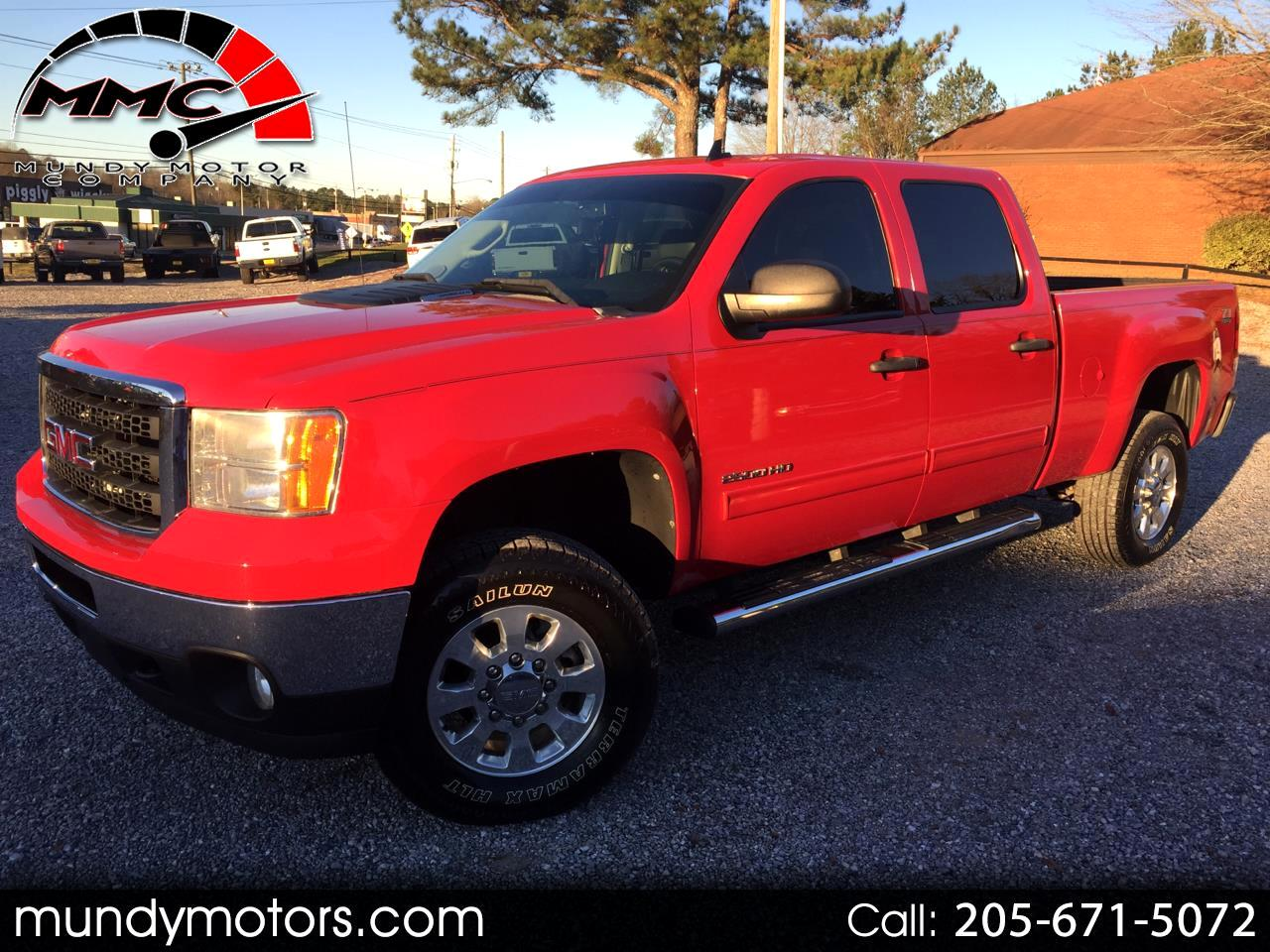 2011 GMC Sierra 2500HD SLE Crew Cab Short Bed 4WD