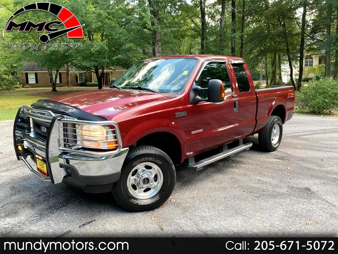 2004 Ford F-250 SD Lariat SuperCab Short Bed 4WD