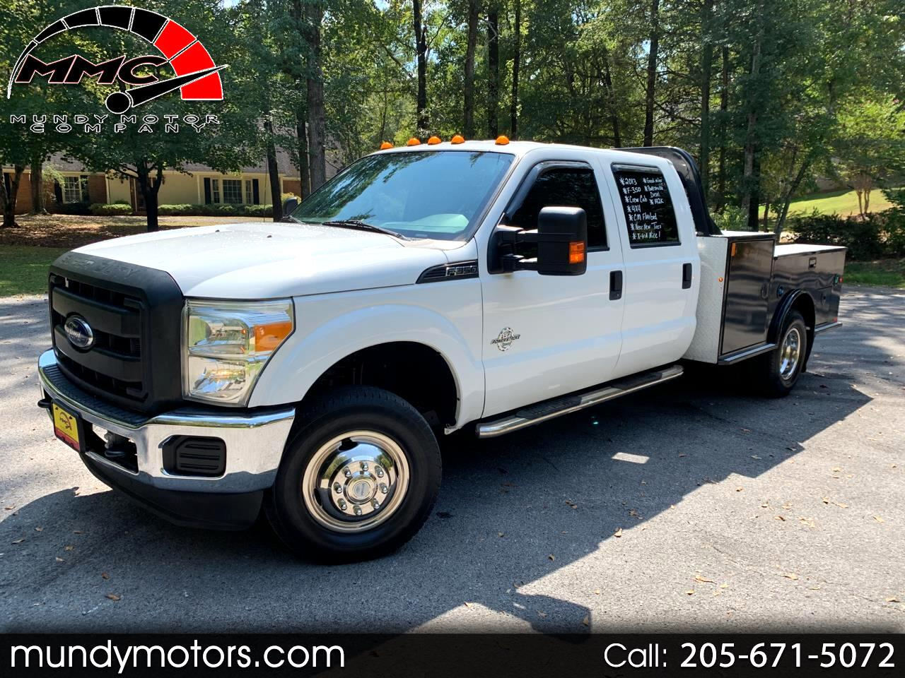 2013 Ford F-350 SD XL Crew Cab Short Bed 4WD DRW