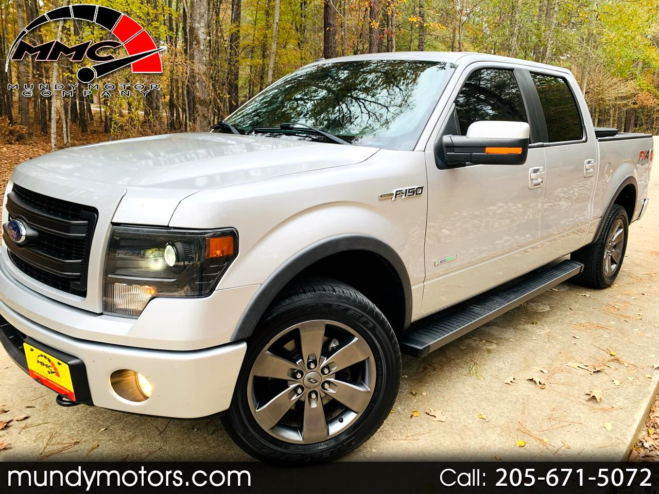 Ford F-150 FX4 SuperCrew Short Box 2014