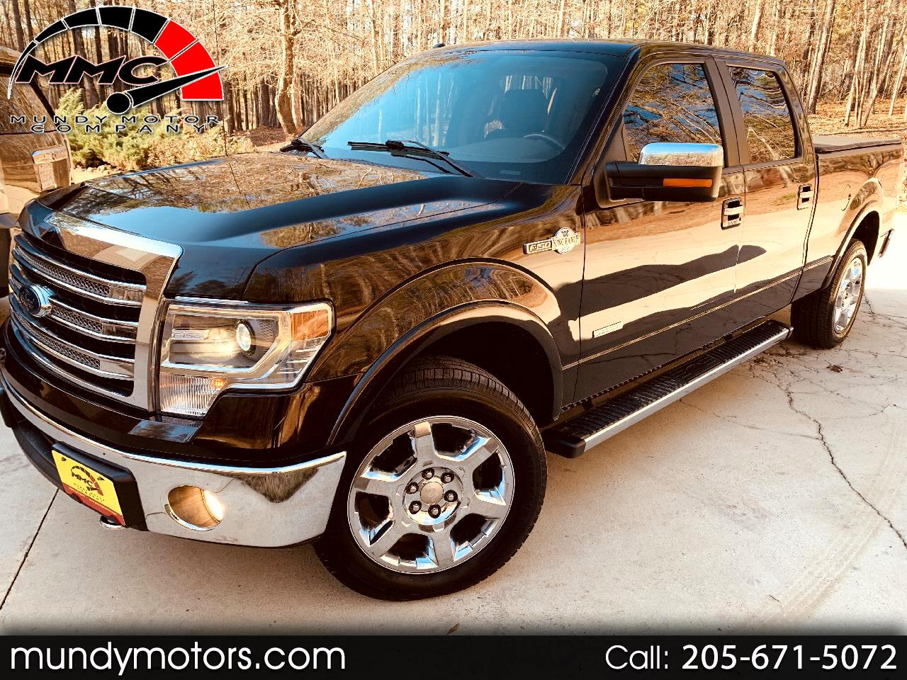 Ford F-150 King Ranch SuperCrew 6.5-ft. Bed 4WD 2014
