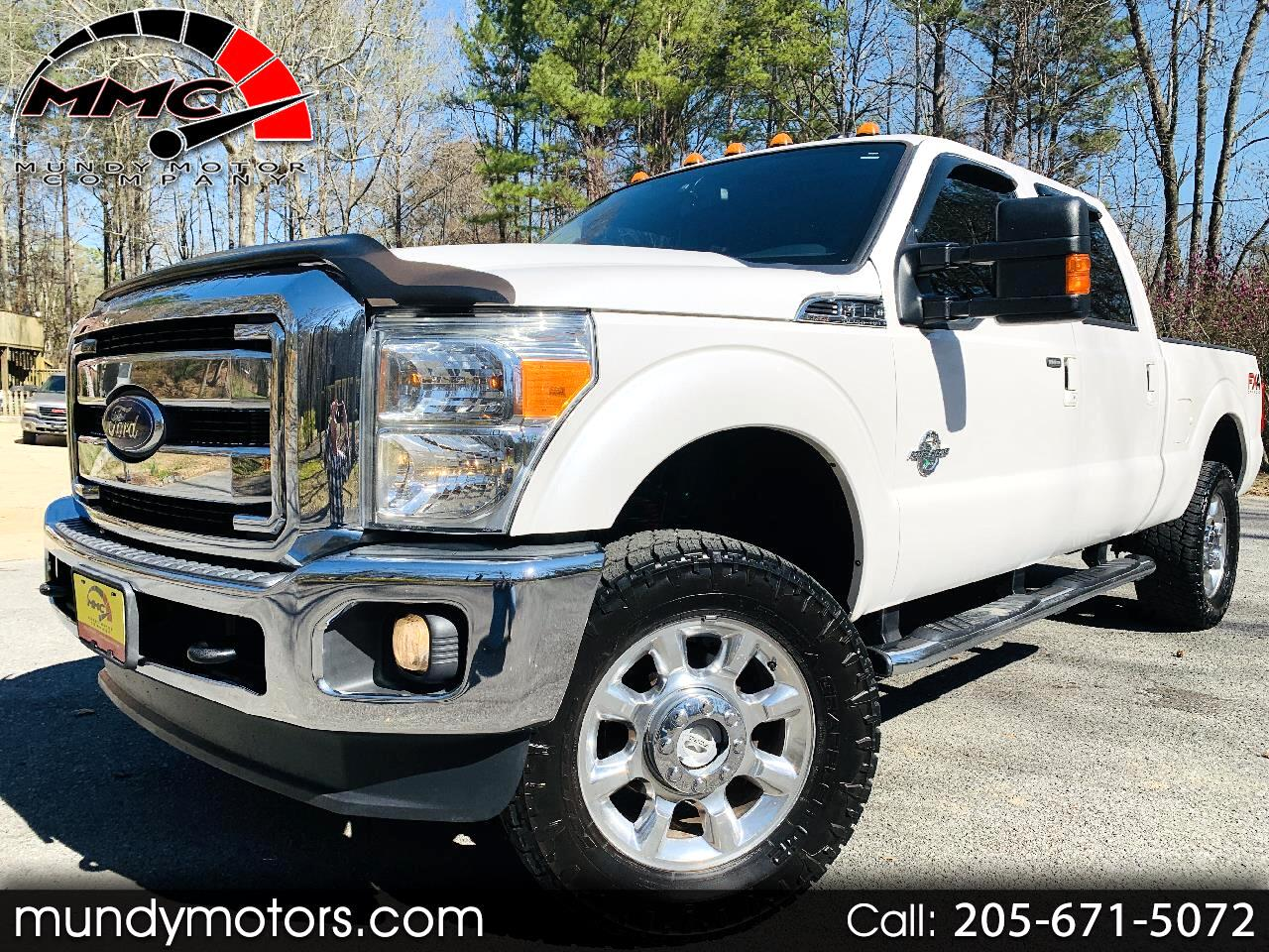 Ford F-350 SD Lariat Crew Cab Short Bed 4WD 2012