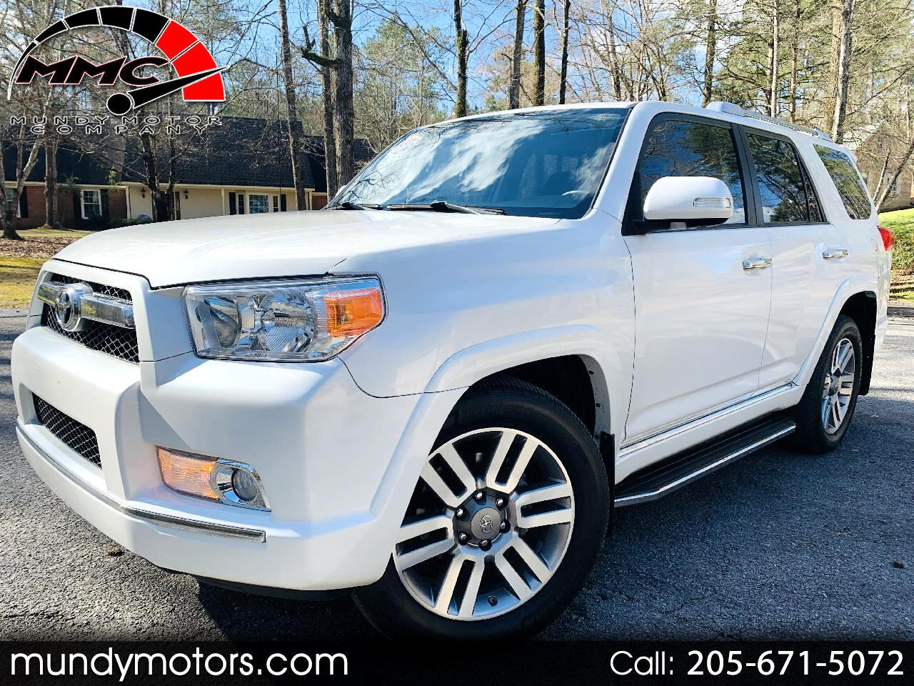 Toyota 4Runner Limited 2WD 2012