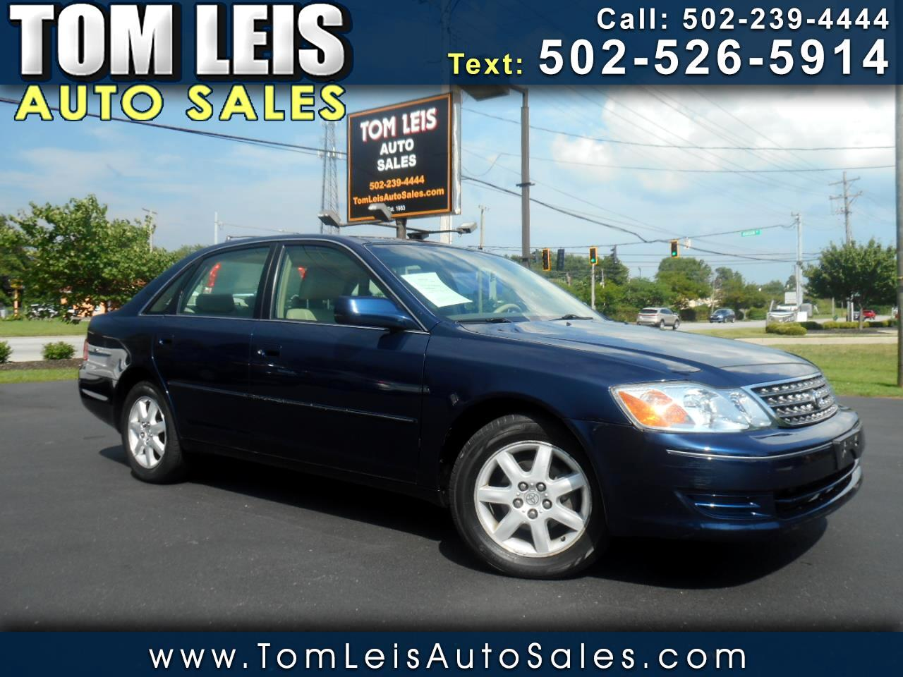 Toyota Avalon 4dr Sdn XL w/Bucket Seats (Natl) 2004