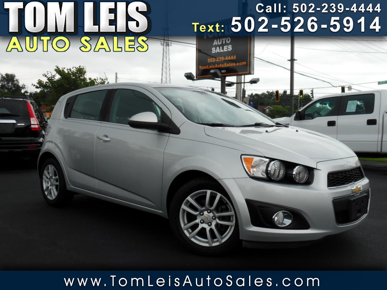 Chevrolet Sonic 5dr HB LT 2LT 2012
