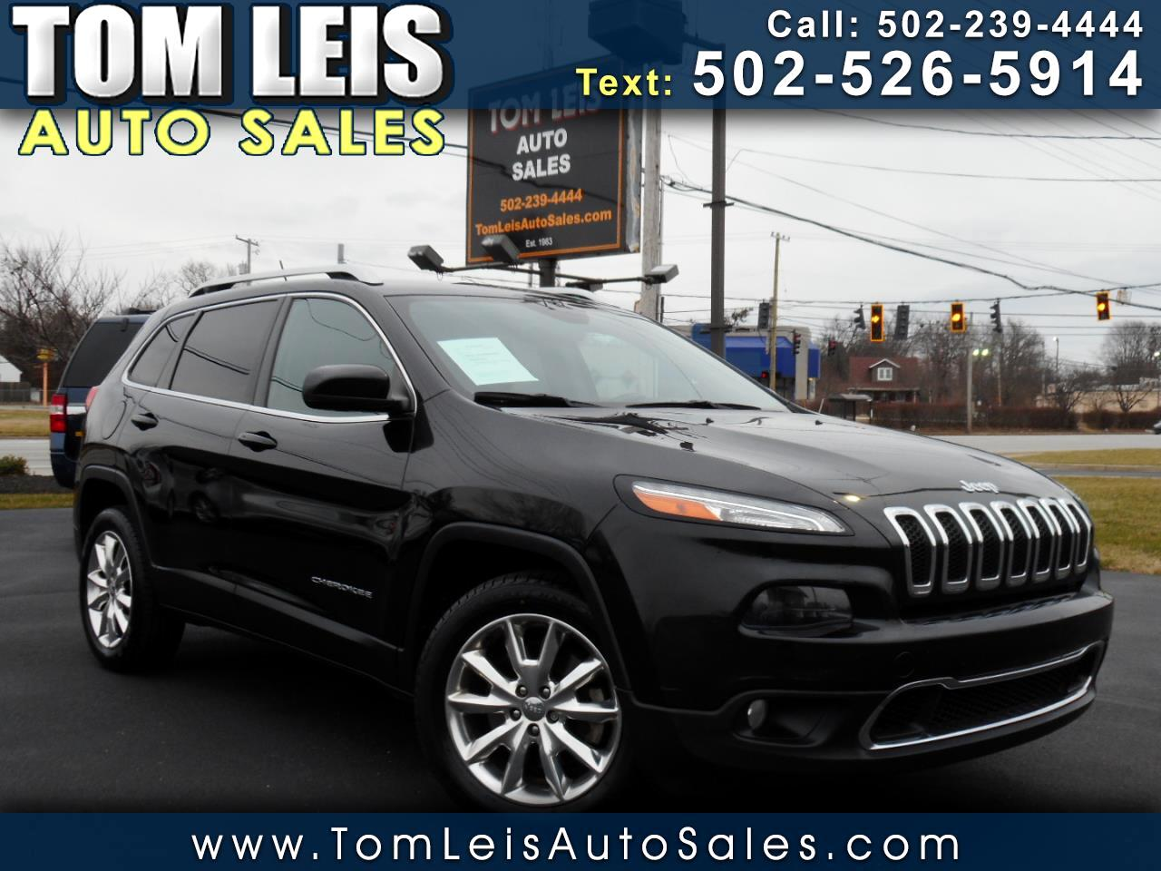 Jeep Cherokee 4dr Limited 2015