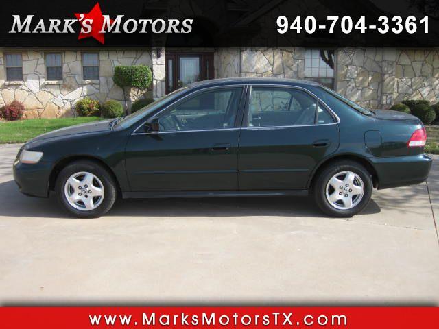 2001 Honda Accord LX V6 sedan