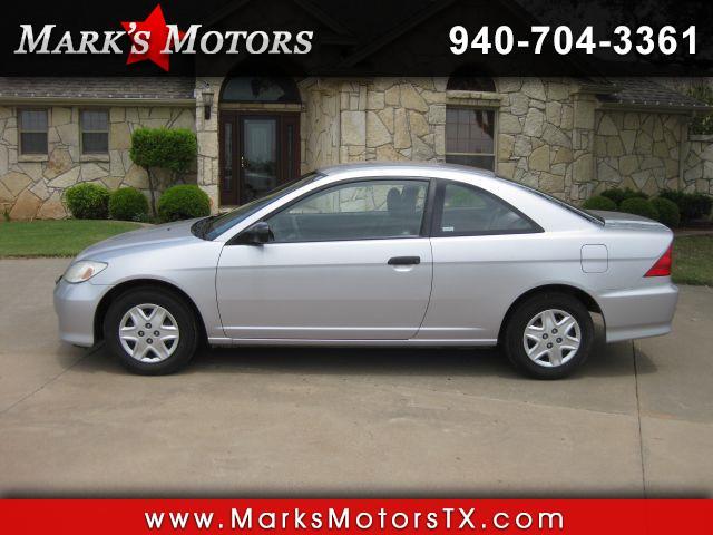 2004 Honda Civic VP coupe AT