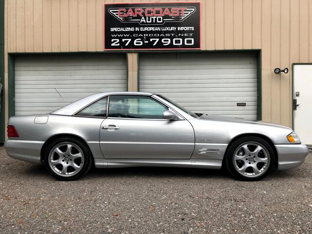 2002 Mercedes-Benz SL-Class 2dr Roadster 5.0L Silver Arrow