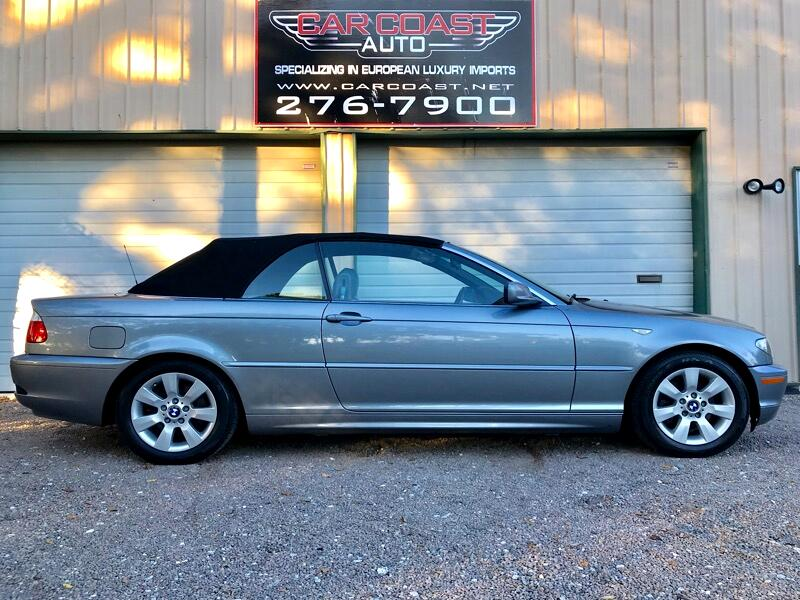 2005 BMW 3-Series 2dr Convertible