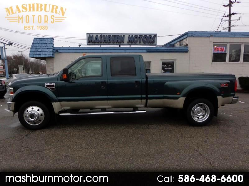 2008 Ford F-450 SD Lariat Crew Cab Dually 4WD