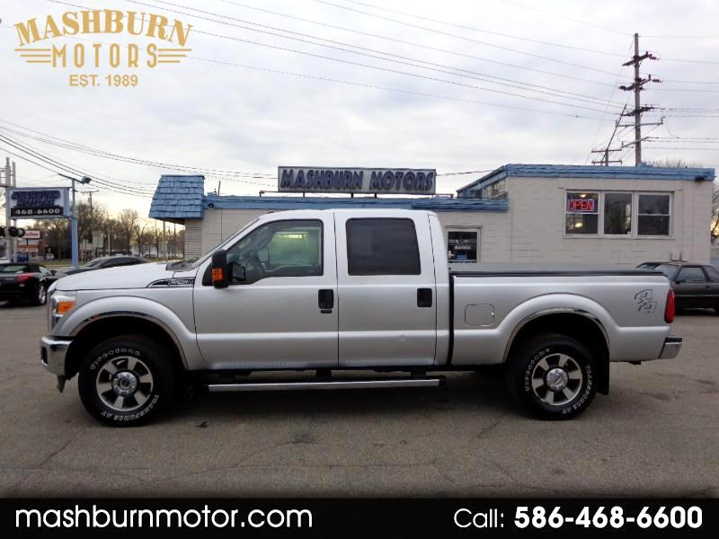 2011 Ford Super Duty F250 XLT Crew Cab Short Bed 4X4