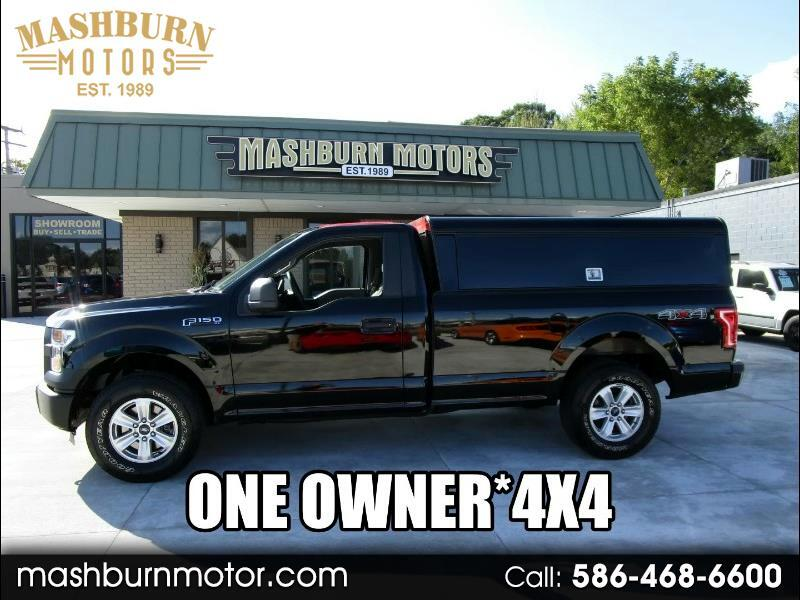 2016 Ford F-150 XL 8-ft. Bed 4WD