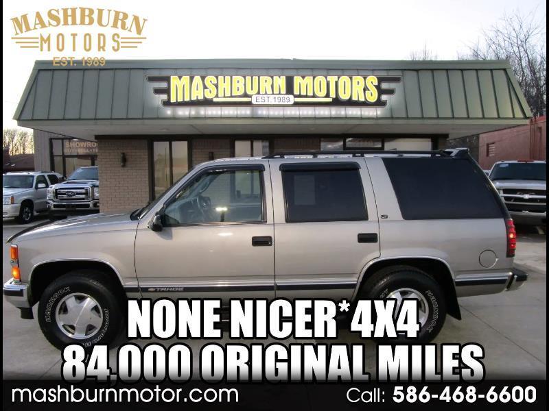 Chevrolet Tahoe 4-Door 4WD 1998