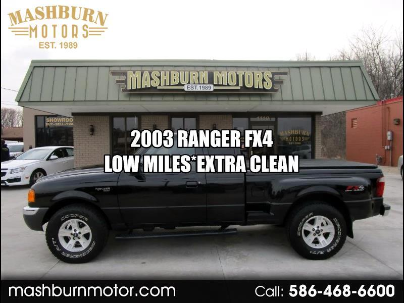 Ford Ranger FX4 Off-Road SuperCab 4WD 2003