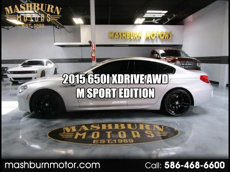 BMW 6-Series Gran Coupe 650i xDrive 2015