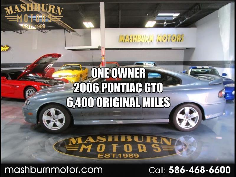 Pontiac GTO Coupe 2006
