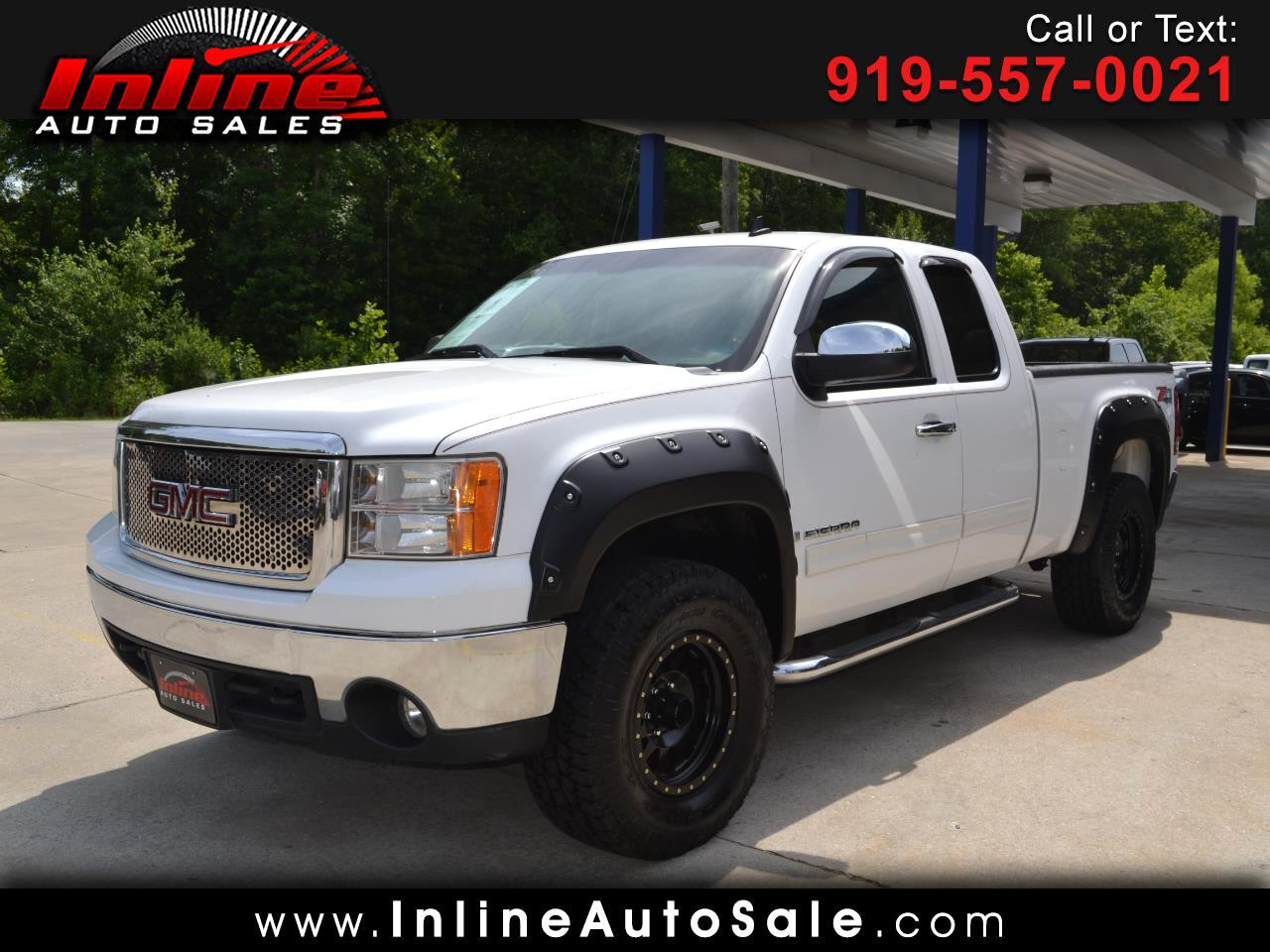 2008 GMC Sierra 1500 SLE Ext. Cab Short Bed 4WD