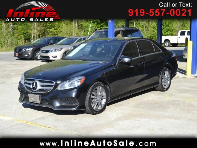 2014 Mercedes-Benz E-Class E250 BlueTEC Sedan