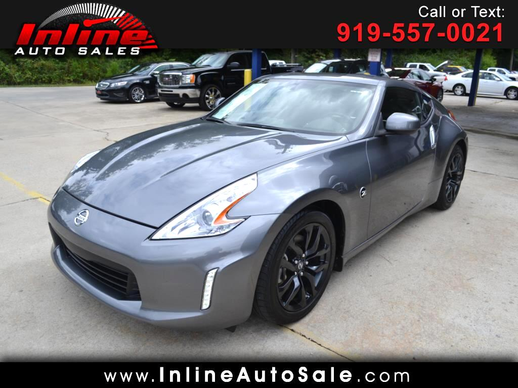 used 2017 nissan 370z coupe manual for sale in fuquay varina nc 27526 inline auto sales. Black Bedroom Furniture Sets. Home Design Ideas