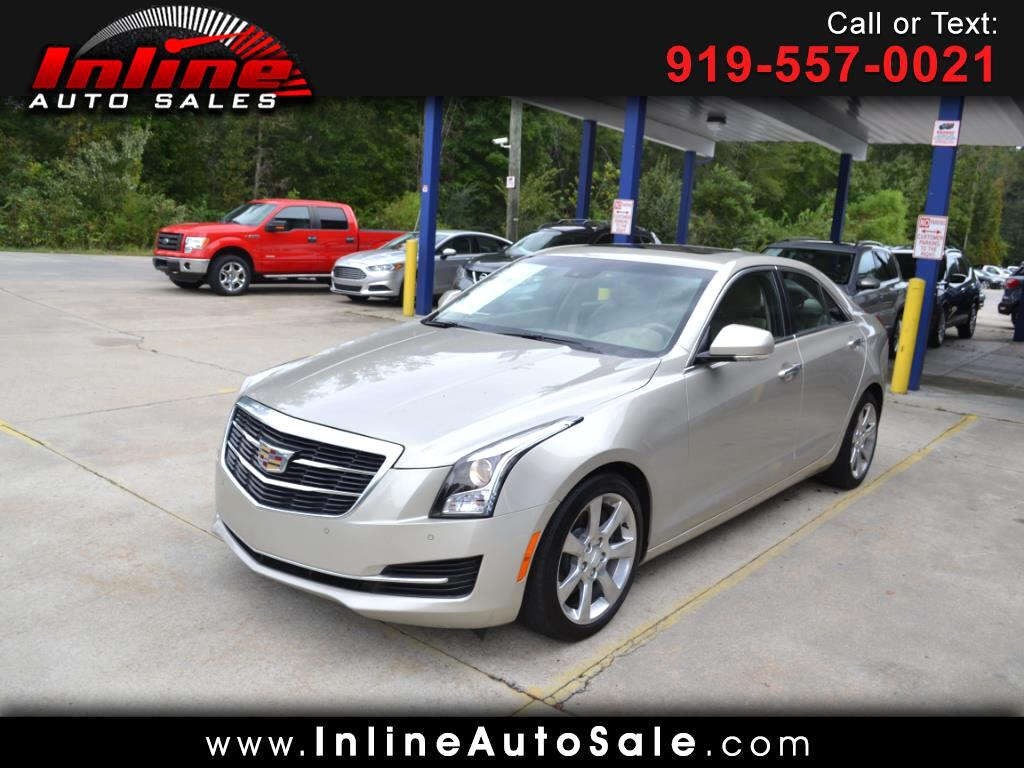 2015 Cadillac ATS Sedan 4dr Sdn 2.0L Luxury RWD