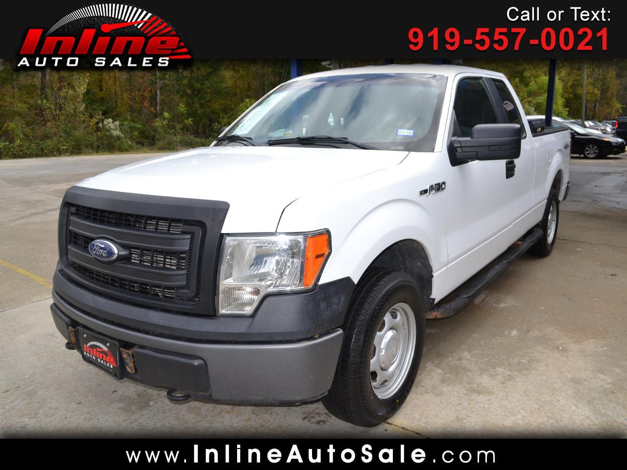 2014 Ford F-150 4WD SuperCab 163