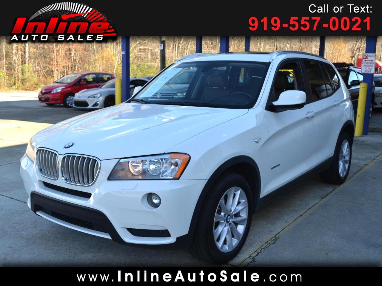2014 BMW X3 AWD 4dr xDrive28i