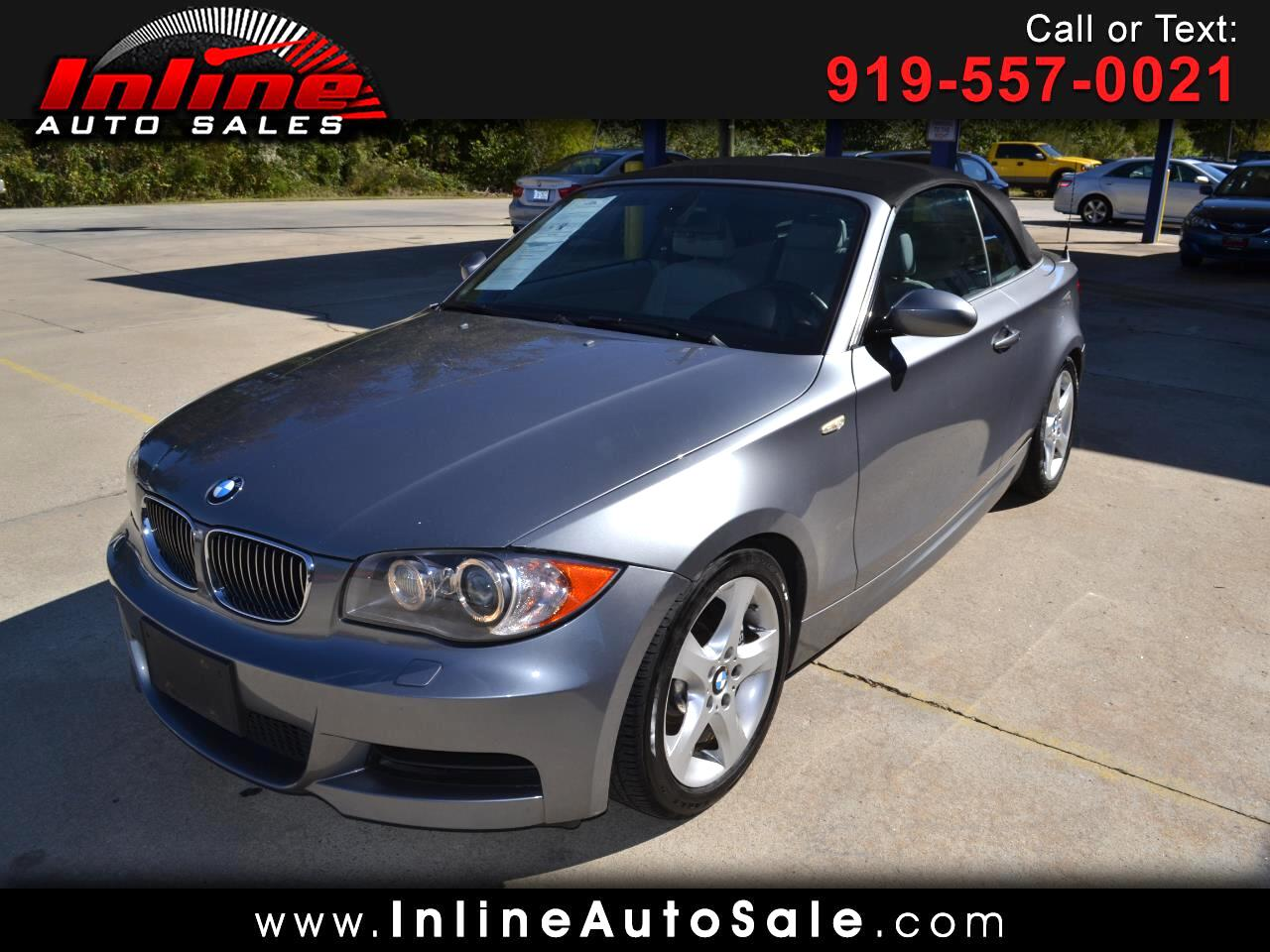 2009 BMW 1 Series 2dr Conv 135i