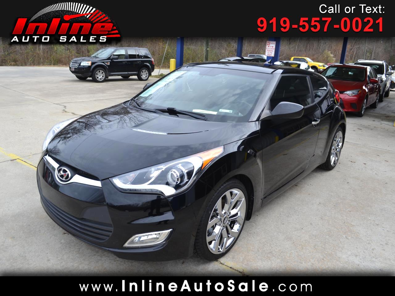 2015 Hyundai Veloster 3dr Cpe Auto RE:FLEX w/Black Int