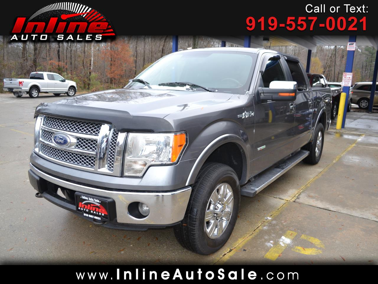 """2011 Ford F-150 4WD SuperCab 145"""" Lariat"""