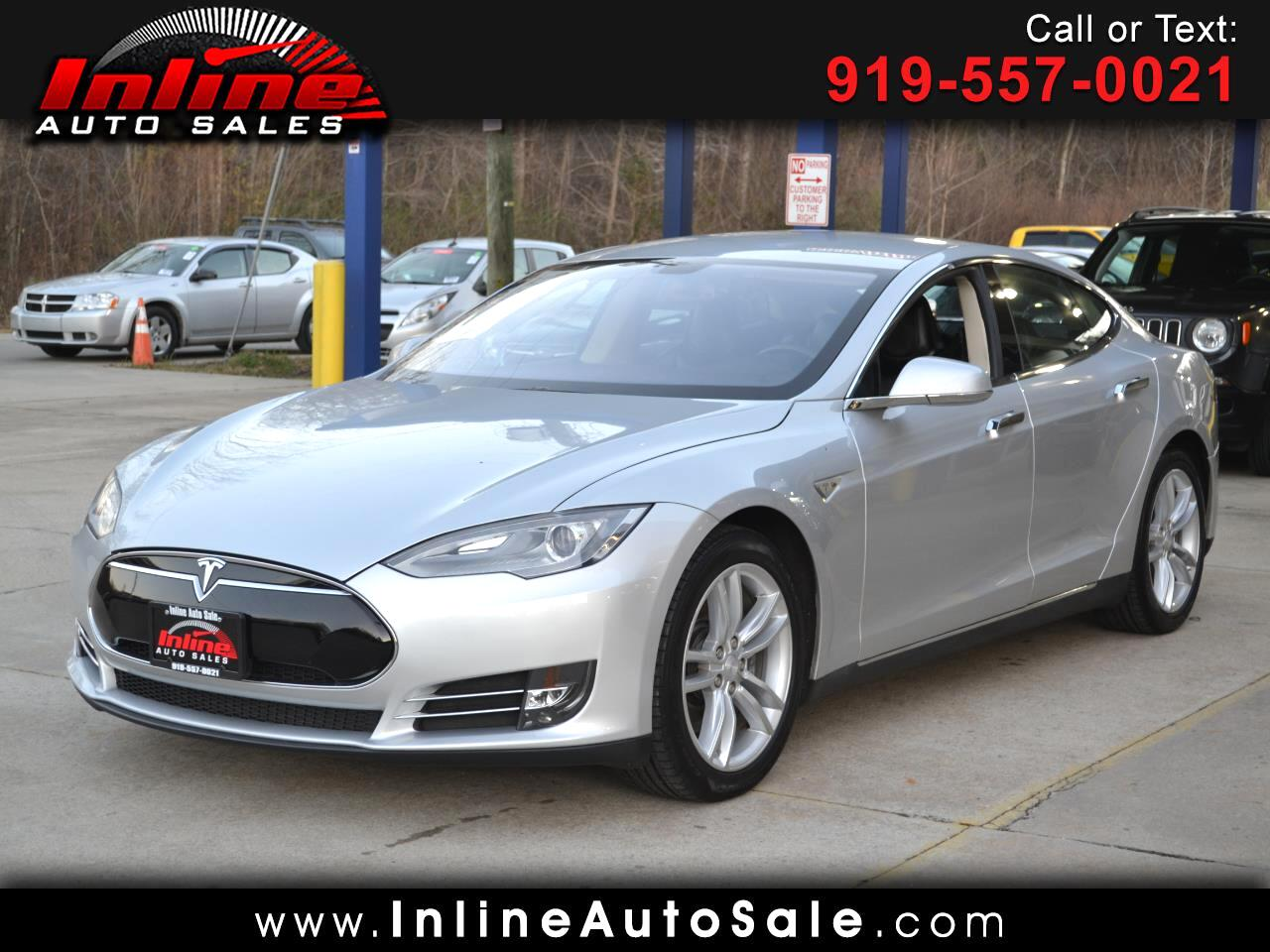 2013 Tesla Model S 4dr Sdn RWD 85 kWh Battery