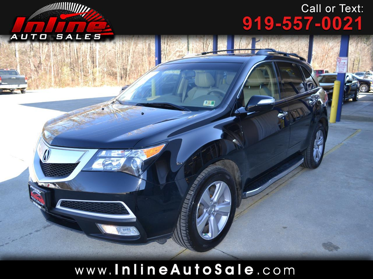 2013 Acura MDX AWD 4dr Tech/Entertainment Pkg