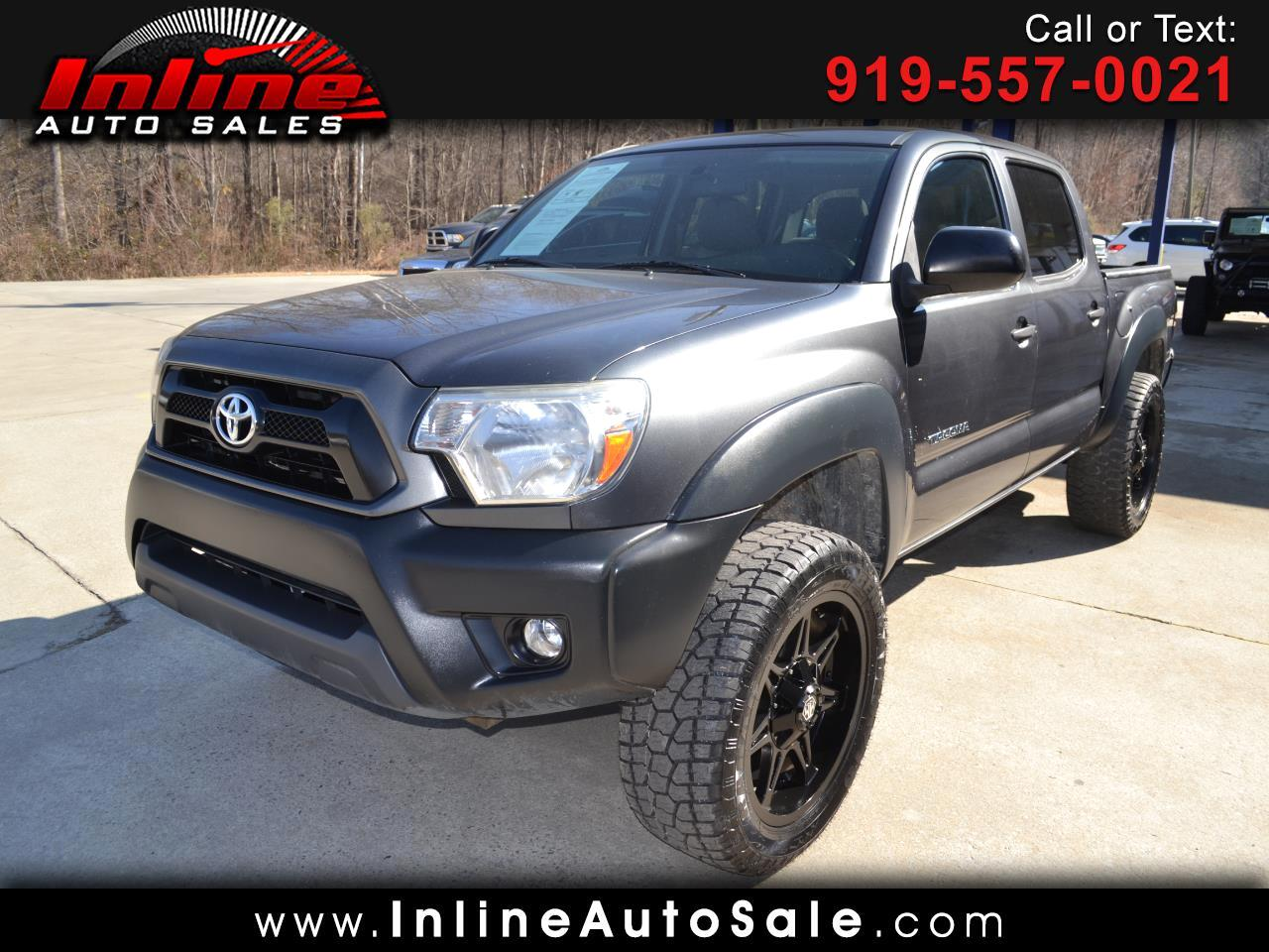 2014 Toyota Tacoma 2WD Double Cab V6 AT PreRunner (Natl)